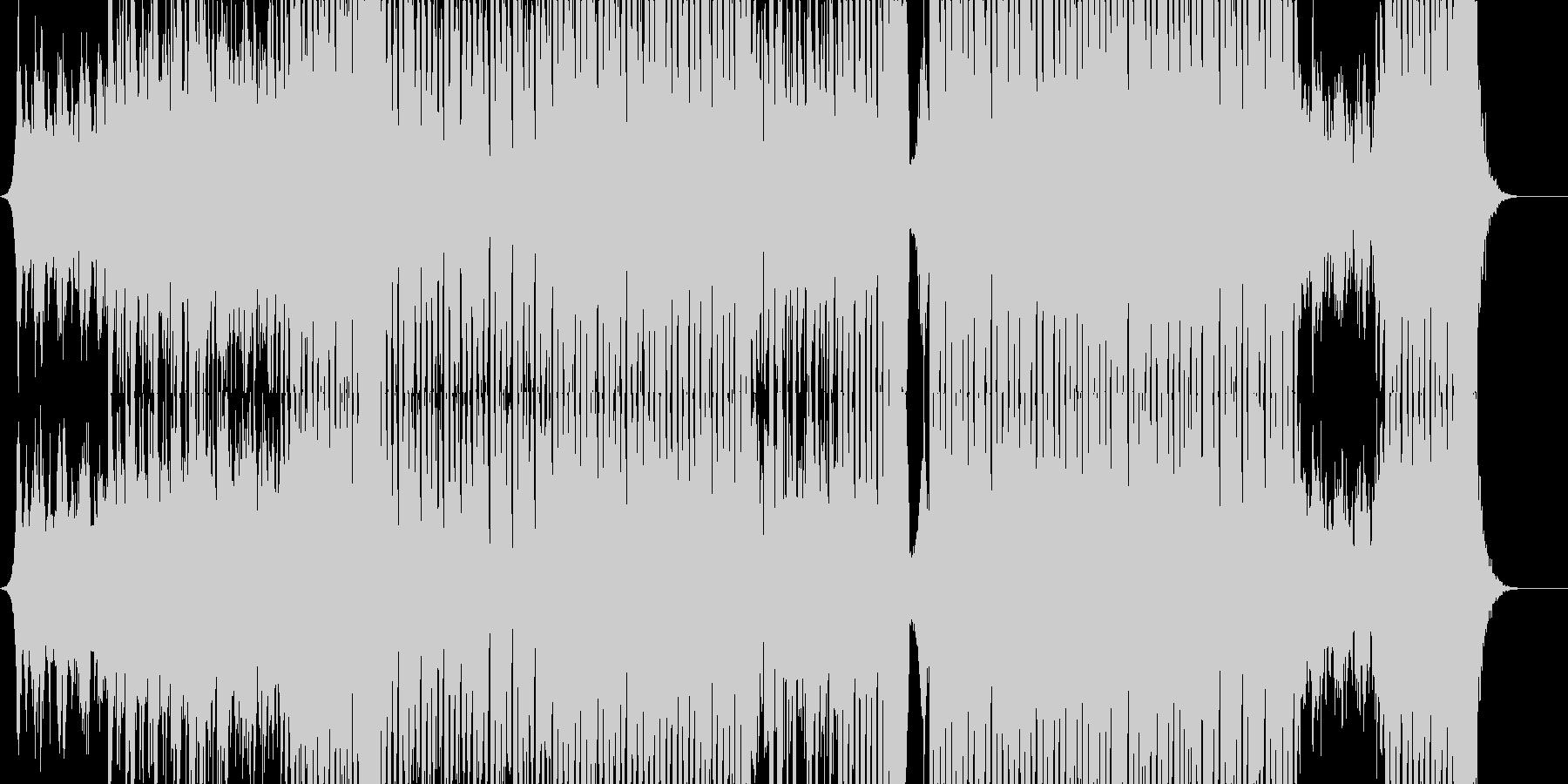 キラキラKpop系のトラック/四つ打ちの未再生の波形