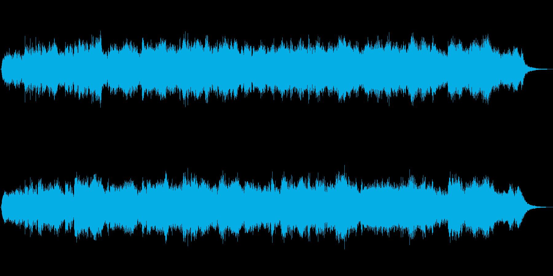 ジブリ風の創造の世界的なジングルの再生済みの波形