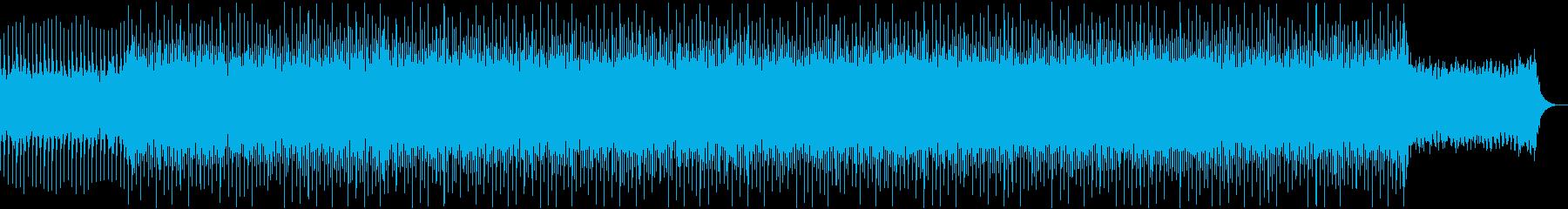 プレゼン、企業VPの再生済みの波形