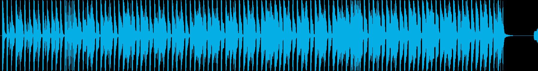 明るいポップBGM(60ver)の再生済みの波形