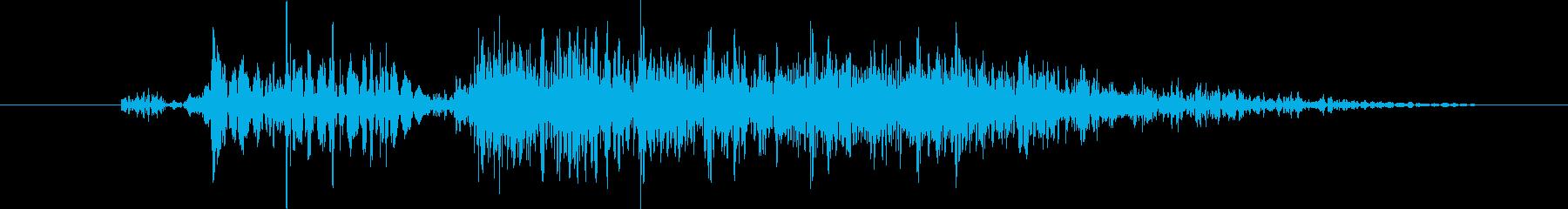 ヒューマノイド フィッシュマン・ス...の再生済みの波形