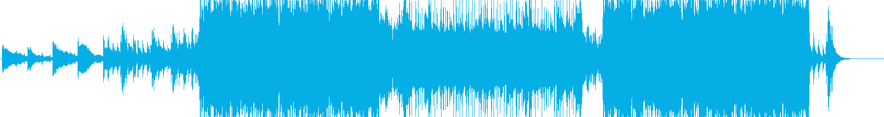 CM等に合いそうな幻想的アンビエント曲の再生済みの波形