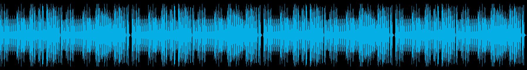 ほのぼの 日常 配信 ピアノ ループ可の再生済みの波形