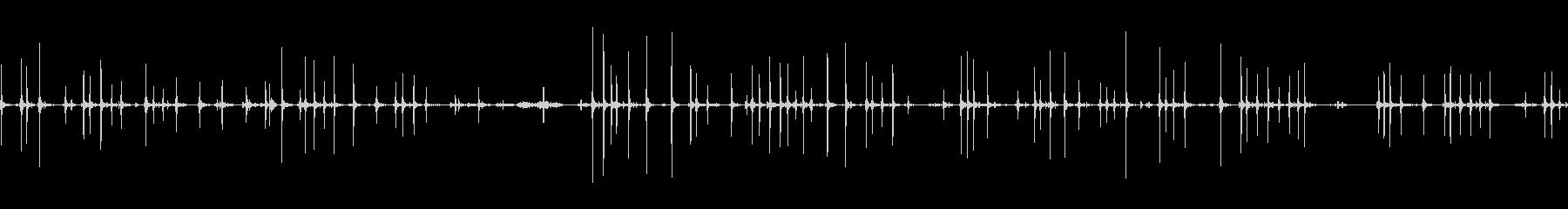 タイプライター古いアンティークeの未再生の波形
