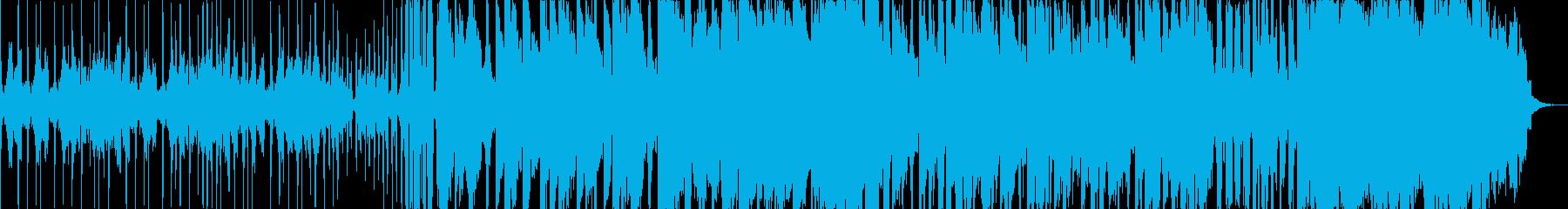 高級感を醸し出すストリングスメインの曲の再生済みの波形