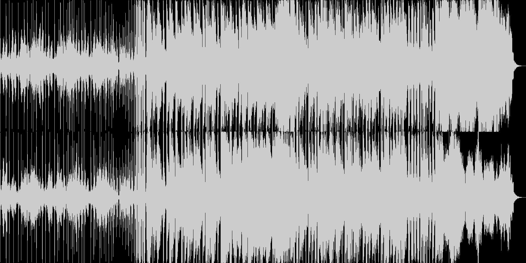 高級感を醸し出すストリングスメインの曲の未再生の波形