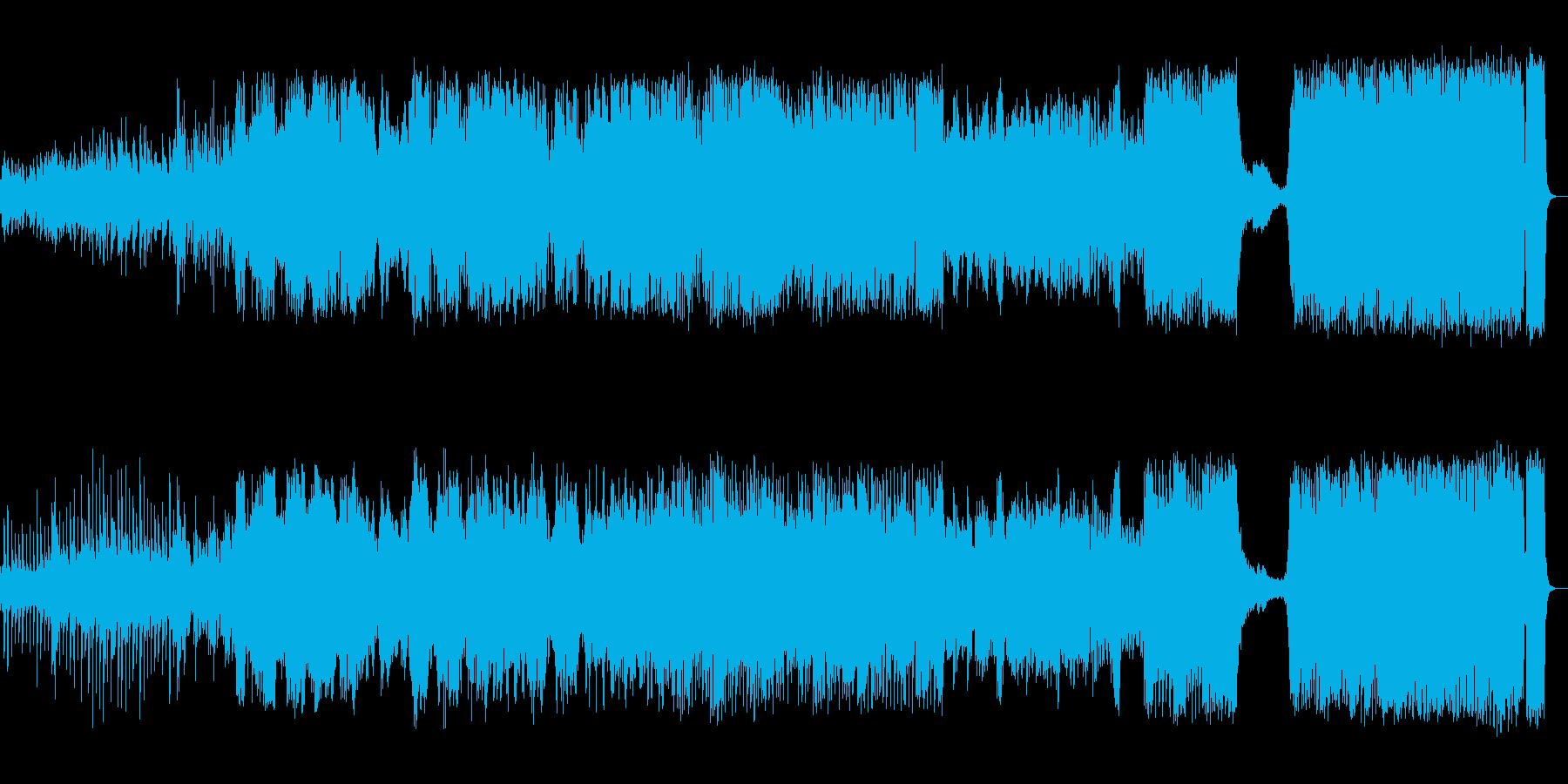 シネマティック アクション 説明的...の再生済みの波形