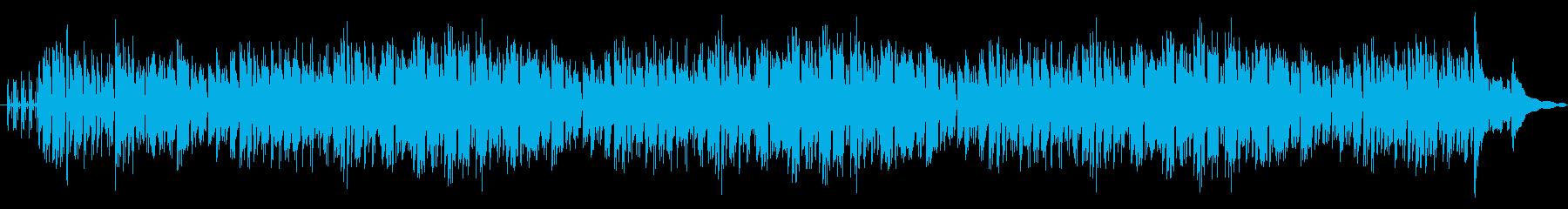 アコーディオンの音色が心地良いボサノヴァの再生済みの波形