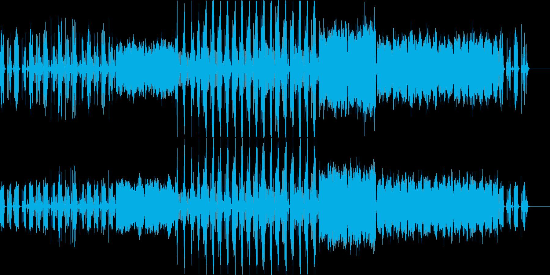 和風テイストでコミカルな楽曲の再生済みの波形