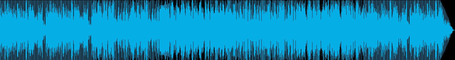 哀愁を帯びたジャズの再生済みの波形