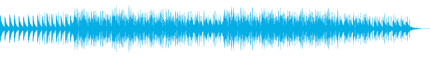 朝を感じれるゆったりとしたかわいい曲の再生済みの波形