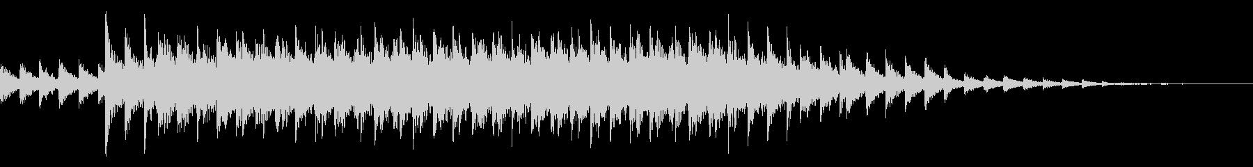 カラコロ(異次元へ移動する電子音)の未再生の波形