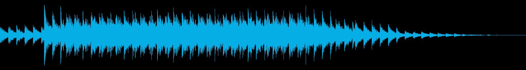 カラコロ(異次元へ移動する電子音)の再生済みの波形