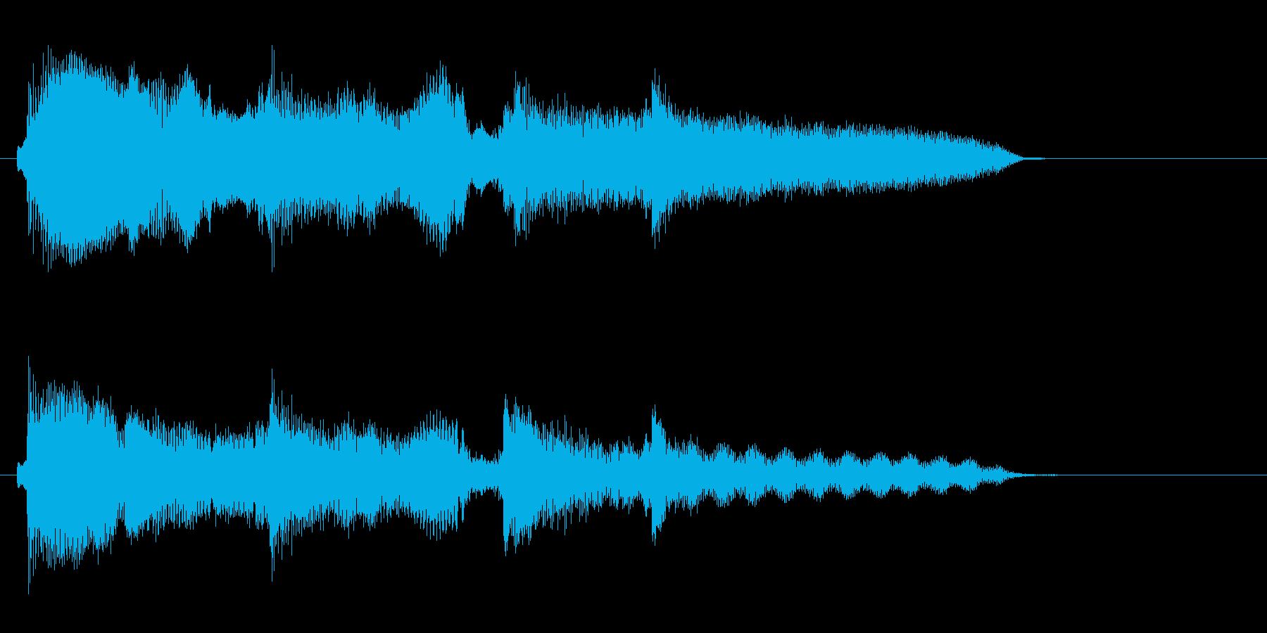 中華2 ゲームオーバーの再生済みの波形