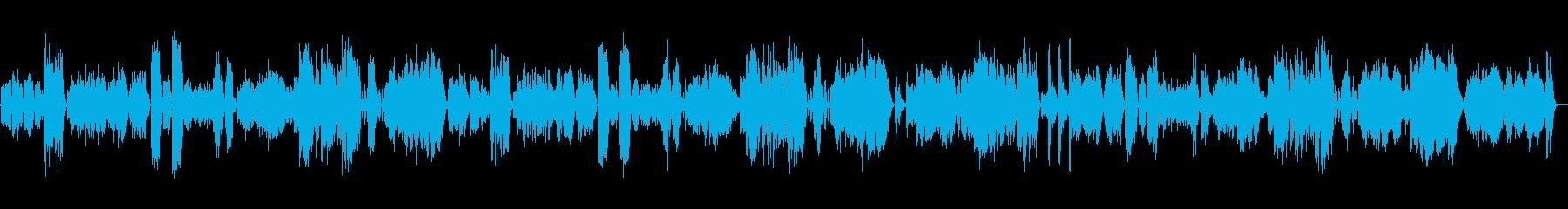 バイオリンソナタK.304 第1楽章の再生済みの波形