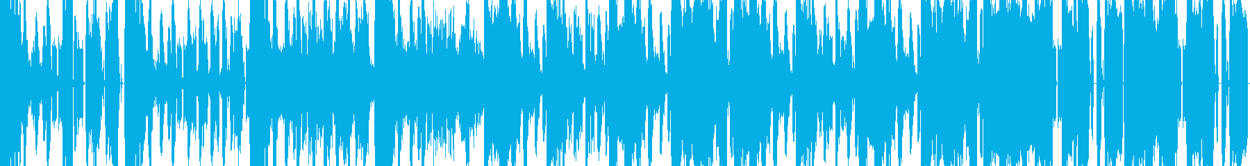 暗いダブステップ風のBGMの再生済みの波形