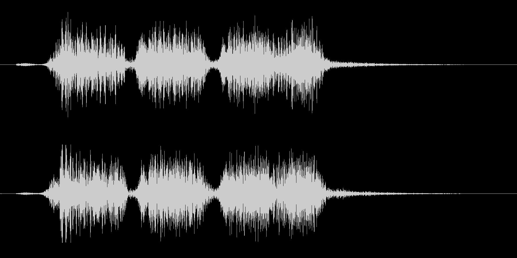 YouTubeジングル【パターンB】の未再生の波形
