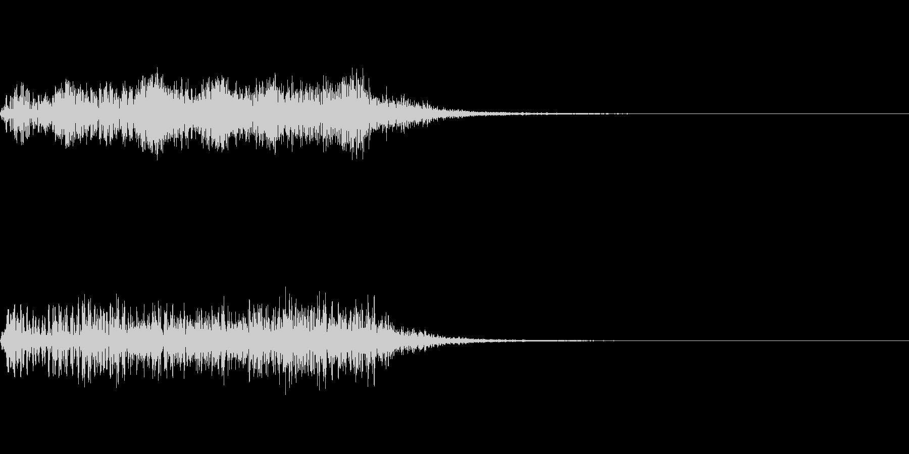ホラー系導入音_その10の未再生の波形