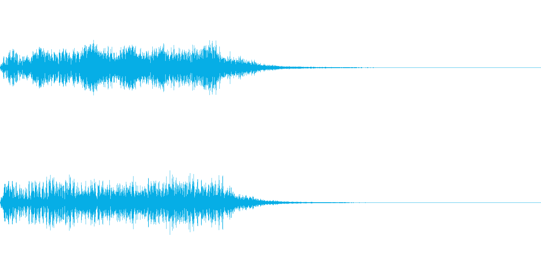 ホラー系導入音_その10の再生済みの波形