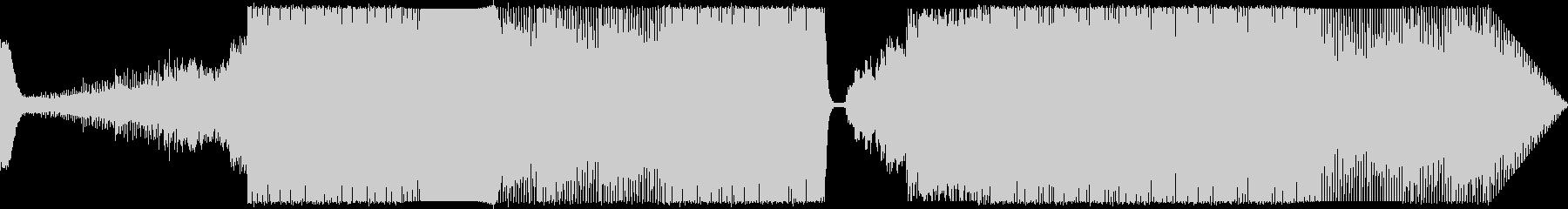 ミッドテンポのエレクトロビートの未再生の波形