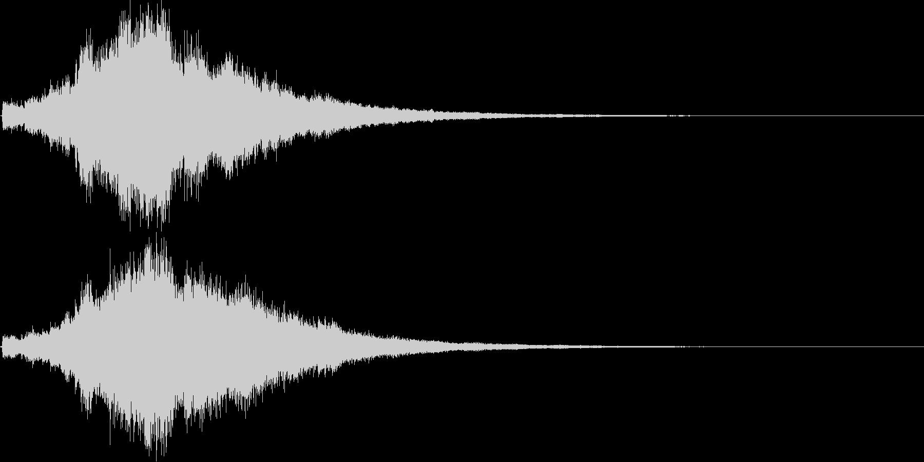 キラキラ&ボイスクリア,達成,回復等2Bの未再生の波形
