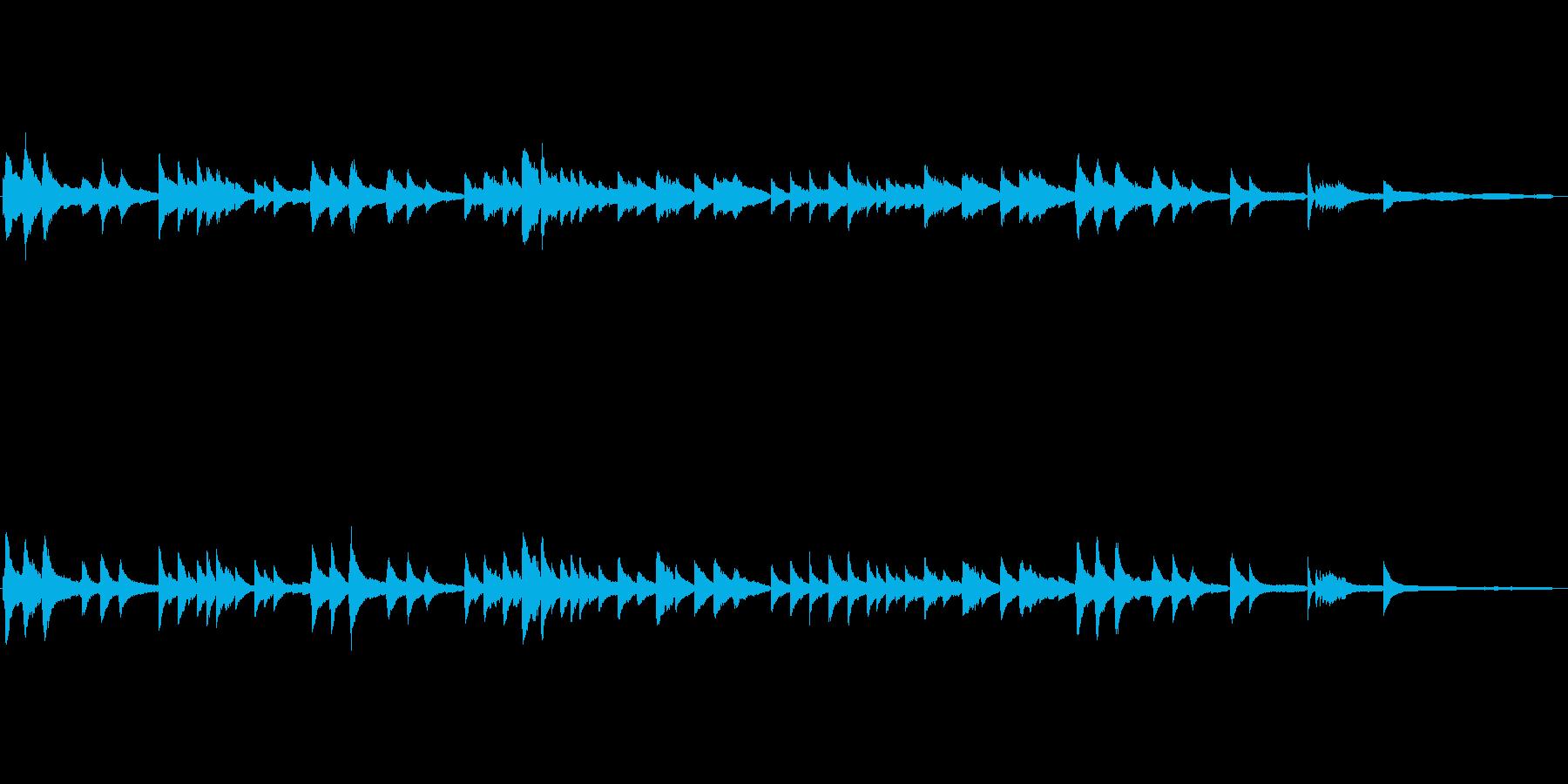 日本古謡|さくらさくら|ピアノ伴奏の再生済みの波形