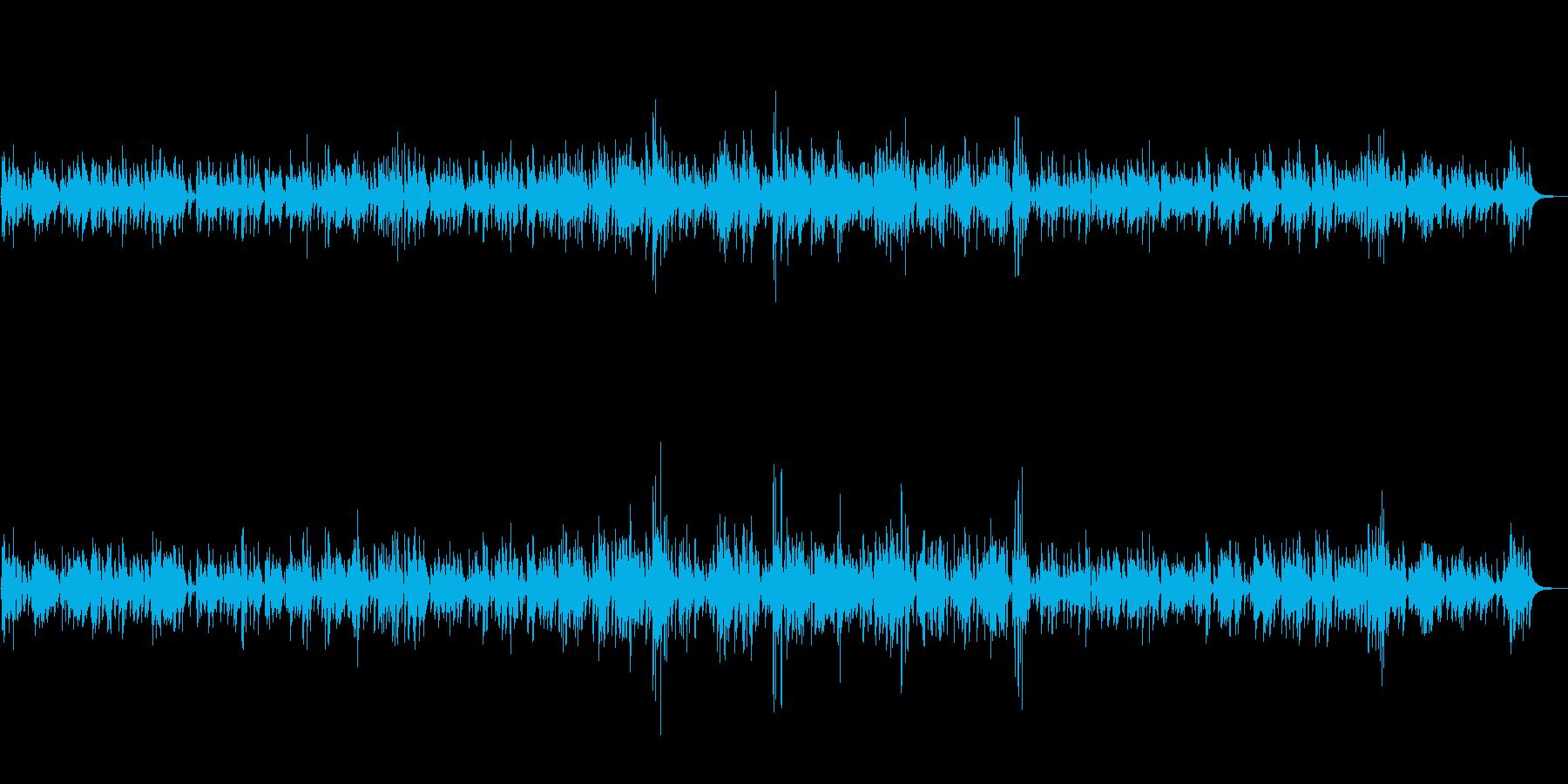 ラウンジ・バーで流れる上品なジャズBGMの再生済みの波形