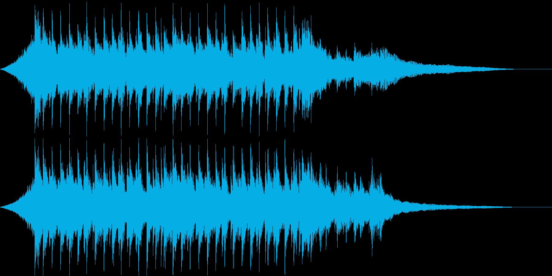 CM15秒、ウクレレ、爽快、疾走感、口笛の再生済みの波形