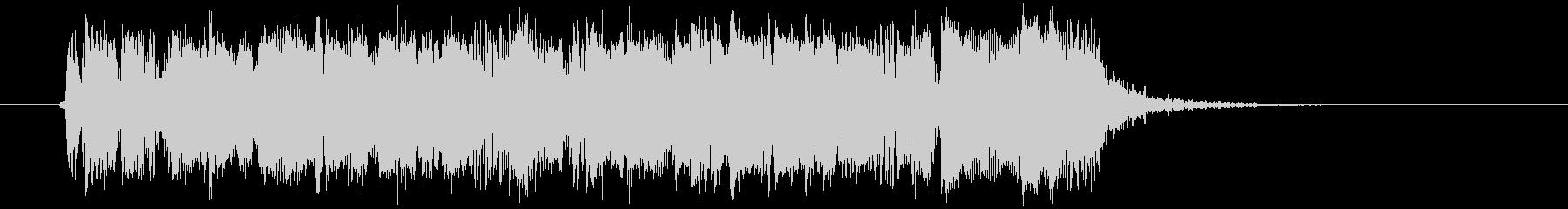 ギターフレーズ016の未再生の波形