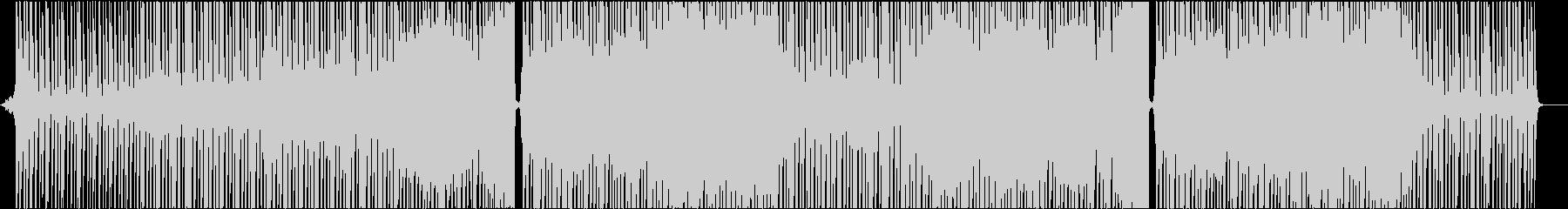 洋楽 EDM エレクトロ ポップ 跳ねるの未再生の波形