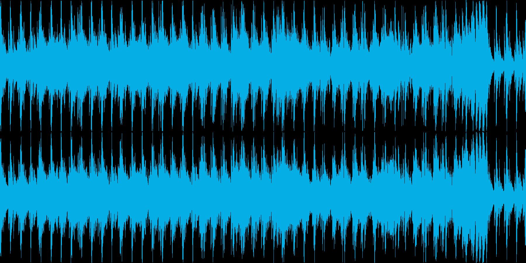 躍動感のある二枚目オーケストラの再生済みの波形
