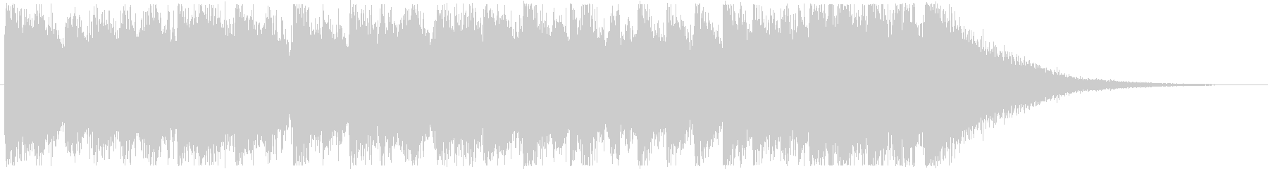 映像・ジングル・楽しいファンク・12秒の未再生の波形