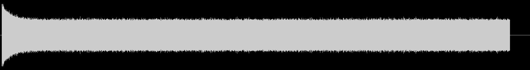 ザー(アナログテレビの砂嵐)の未再生の波形