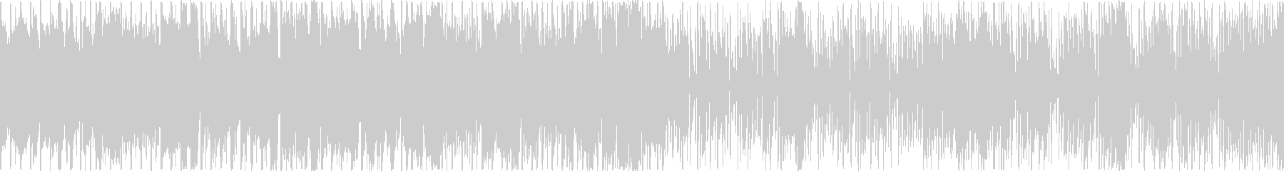 和楽器をフィーチャーしたEDM:ループBの未再生の波形