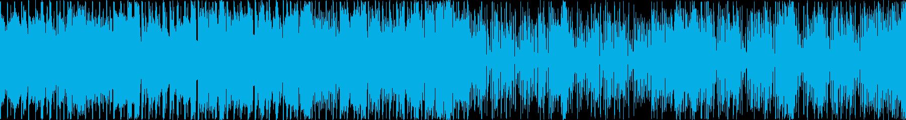 和楽器をフィーチャーしたEDM:ループBの再生済みの波形
