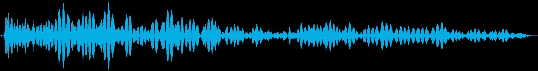 ドロン (忍術)の再生済みの波形