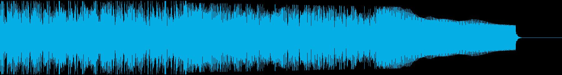 カントリー風ギターイントロ−06Gの再生済みの波形