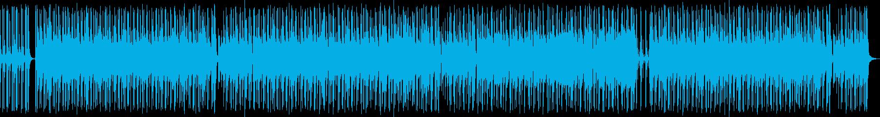 口笛とリコーダーのハイテンポで楽しい曲Lの再生済みの波形