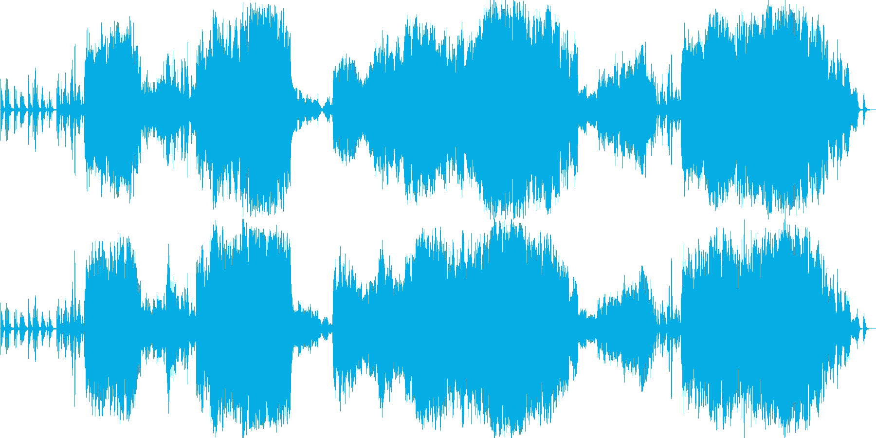 ピアノとオーケストラのどこか懐かしい旋律の再生済みの波形