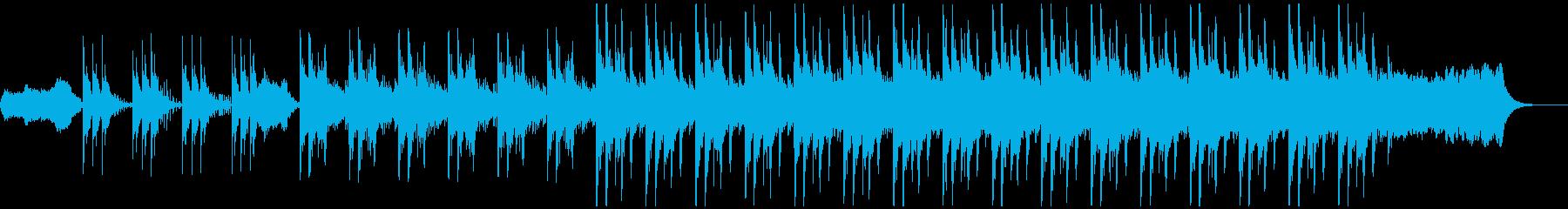 冷静さが感じられる知的なイメージの曲の再生済みの波形