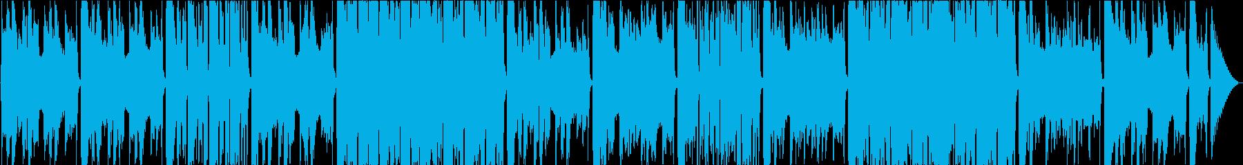 洋風民謡、おだやか/静かめの再生済みの波形