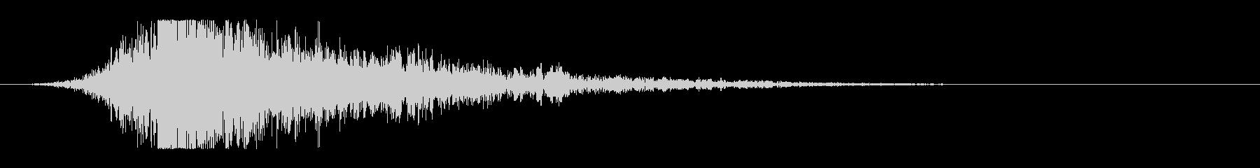 シュードーン-14(インパクト音)の未再生の波形