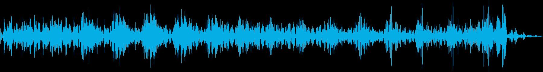 宇宙コンピューター機能データ応答の再生済みの波形