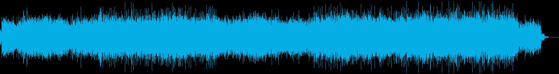 ループ系ロックインストの再生済みの波形