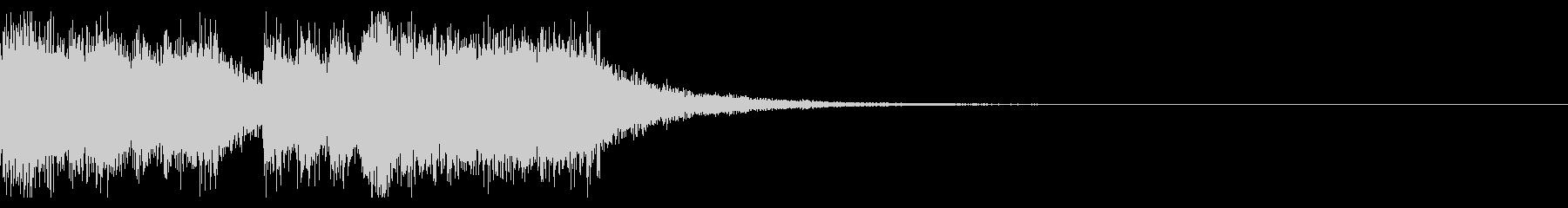 ファンファーレの定番といえばこの音の未再生の波形