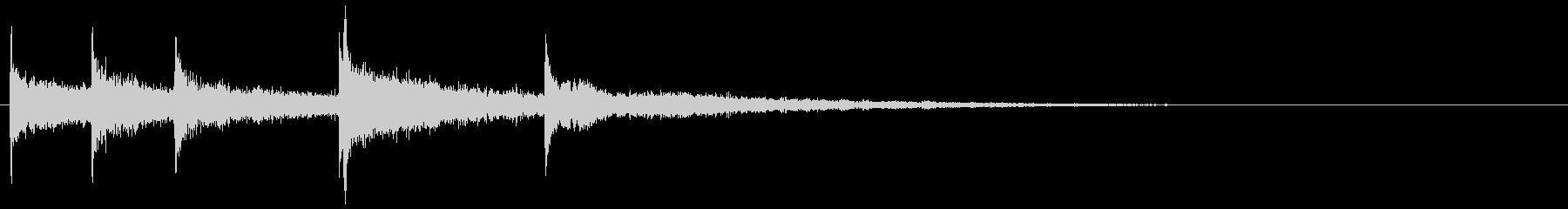 タイトルバック ホラー 15の未再生の波形