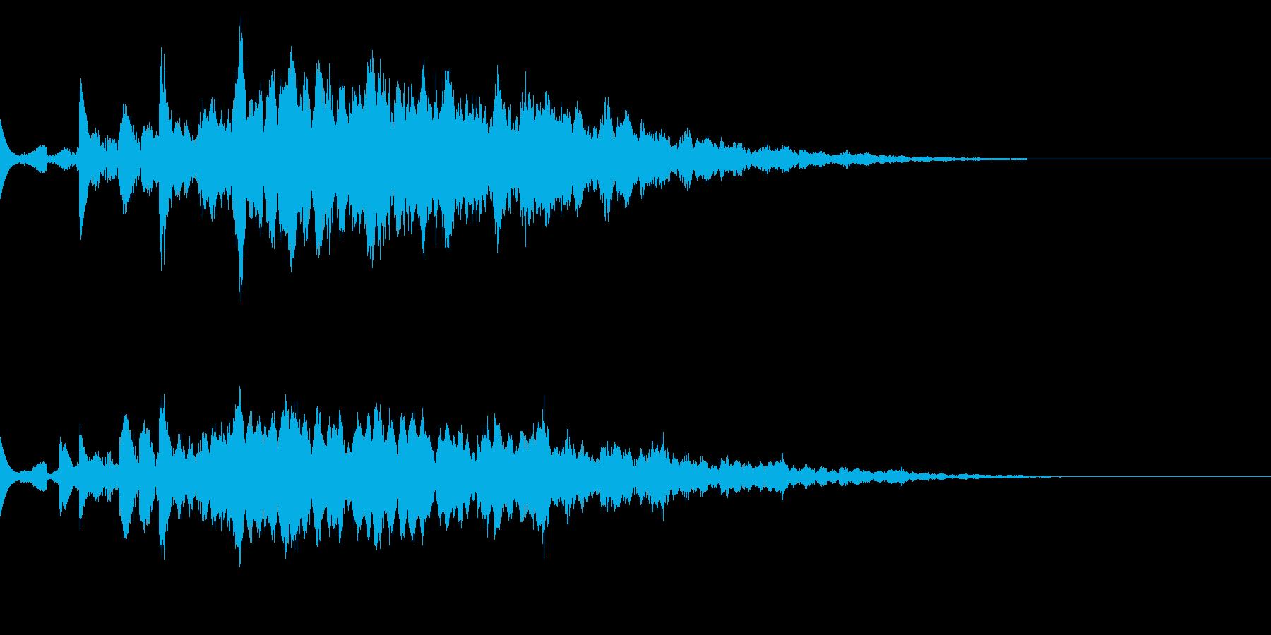 宇宙なアンビエント/SF/深海/癒し系の再生済みの波形