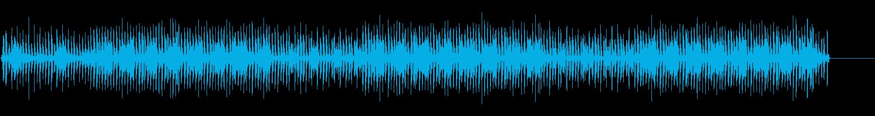 軽やかな口笛とウクレレがメインのCM曲の再生済みの波形