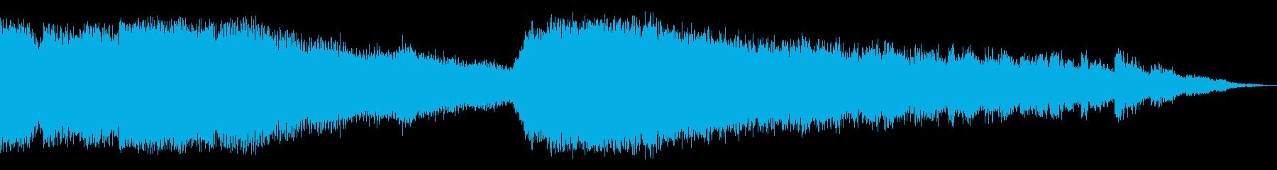 シアースペース2の再生済みの波形
