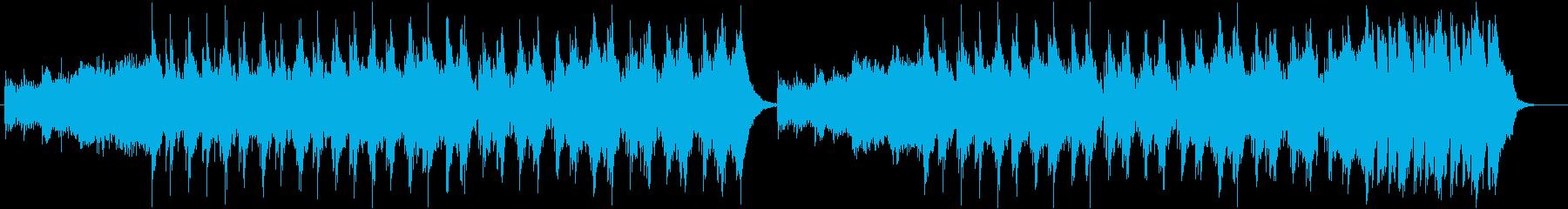 緊張感/ストリングス/ビート の再生済みの波形